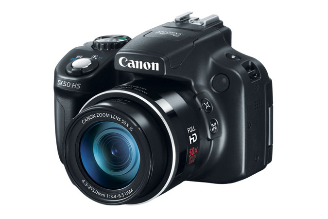 Canon powershot sx50 hs product photo